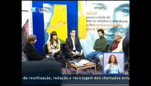 UTAD TV em destaque na RTP