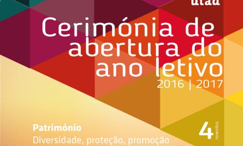 [Liveblog] Cerimónia assinala abertura do ano letivo na UTAD