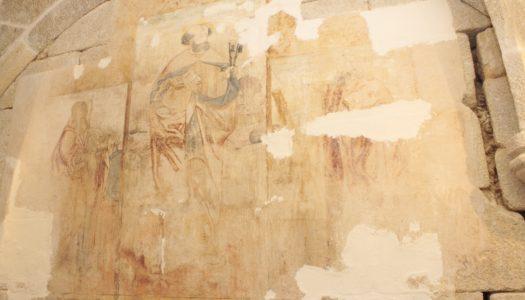 Descoberta pintura renascentista na capela de S. Pedro, em Ribeira de Pena