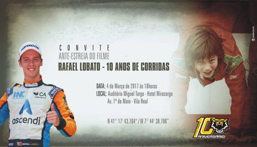 Carreira de Rafael Lobato apresentada em Filme