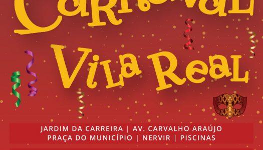 Em fevereiro, Vila Real tem Carnaval