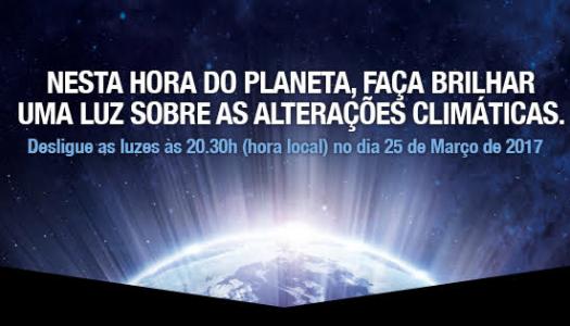 "Apagar as luzes na ""Hora do Planeta"""
