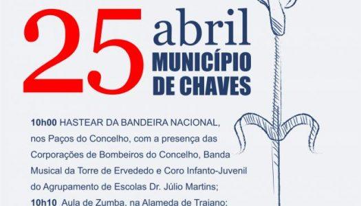 Chaves celebra abril com Desporto