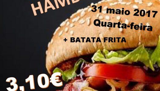 Snack-bar de Além-Rio tem dia da Hambúrguer