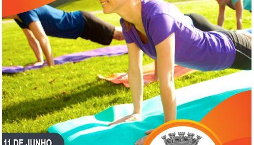 ActiveGym promove aula no Parque Corgo