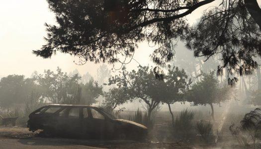 """Incêndio em Alijó: situação é """"muito preocupante"""""""