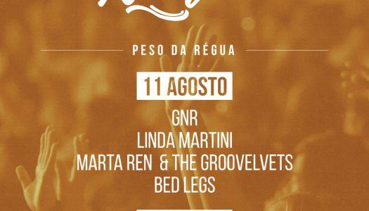 Seleção nacional Douro para festival Rock 2017