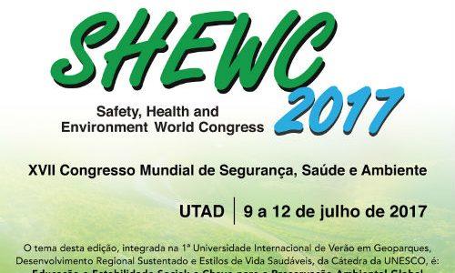 UTAD recebe XVII Congresso Mundial de Segurança, Saúde e Ambiente