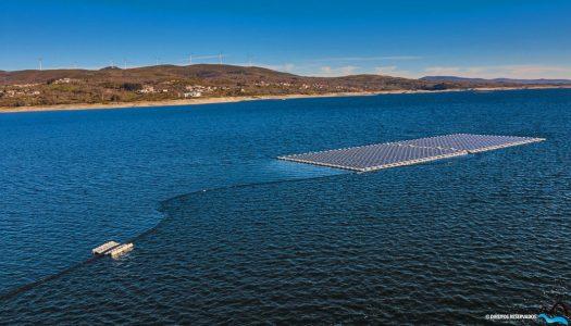 Primeira Central Solar Fotovoltaica Flutuante da Europa está instalada em Montalegre