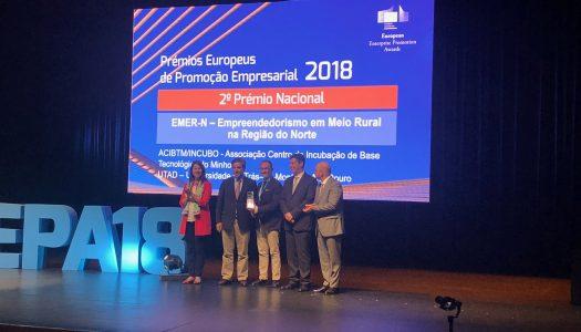 Prémios Europeus de Promoção Empresarial distinguem EMER-N