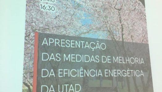 Já estão em curso as medidas de eficiência energética no campus da UTAD