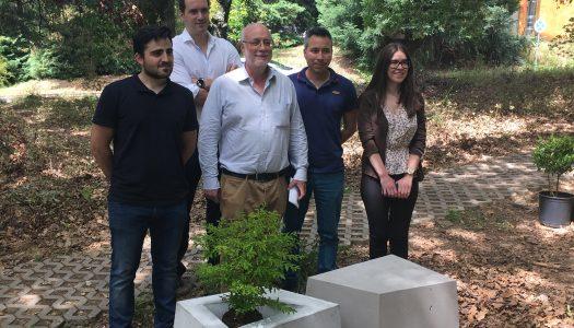 UTAD recebeu mobiliário urbano ecossustentável