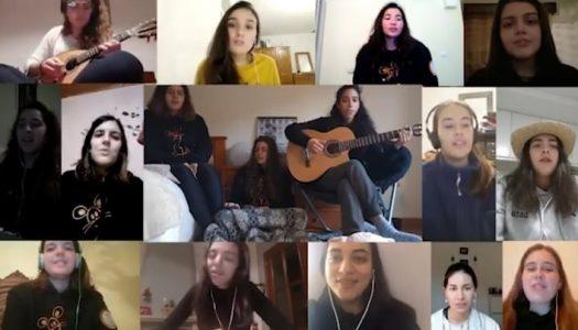 """Vibratuna canta """"virtualmente"""" Fado Universidade"""