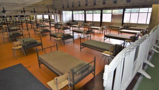 Edifício do ex-CIFOP transformado em Centro de Acolhimento Temporário para doentes COVID-19