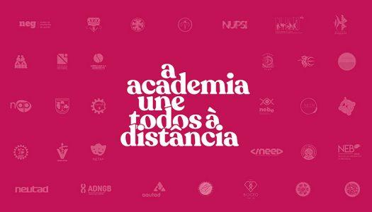 "AAUTAD promove iniciativa solidária ""A Academia Une Todos à Distância"""