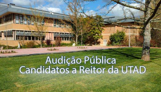 Audição Pública Candidatos a Reitor da UTAD_29 de março de 2021